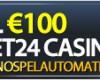 Thumbnail : 100% bonus hos Bet24!