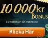 Thumbnail : 10 000SEK bonus hos Betway!